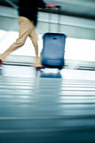 Airport rush Royalty Free Stock Photo
