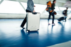 Airport rush Royalty Free Stock Photos