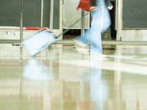 Airport rush Royalty Free Stock Images