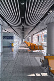Airport's departure area Royalty Free Stock Photos