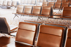 Airport's Waiting Lounge Stock Images