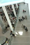 Airport scene royalty free stock photos