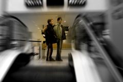 Airport Scene Royalty Free Stock Photography