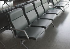 Airport seat Royalty Free Stock Images