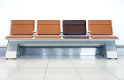 Airport Seat Royalty Free Stock Image