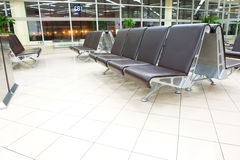 Airport seating Stock Photos