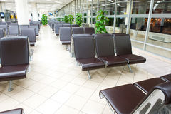 Airport seating Royalty Free Stock Images