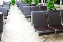 Airport seating Stock Images