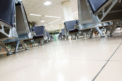 Airport seating Stock Image