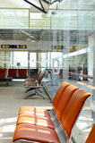 Airport seats Royalty Free Stock Photos