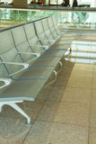 Airport seats Stock Image