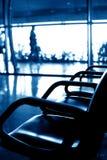 Airport seats Stock Image