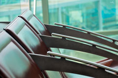 Airports seats Stock Image