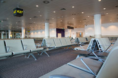 Airport Seats - 02 Royalty Free Stock Photography