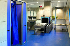 Airport security Stock Photography