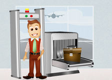 Airport security Royalty Free Stock Image