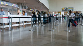 Airport Security Line Stock Photography