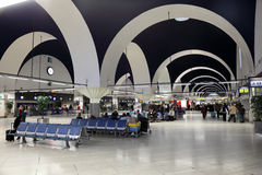 Airport of Seville, Spain Royalty Free Stock Image