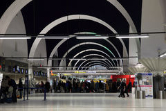 Airport of Seville, Spain Royalty Free Stock Photography
