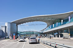 Airport Sheremetievo. Terminal D. Moscow Royalty Free Stock Image
