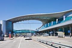 Airport Sheremetievo. Terminal D.Russia. Stock Image