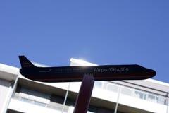 Airport Shuttle Frankfurt-Hahn Stock Images