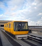 Airport Shuttle Train Stock Image