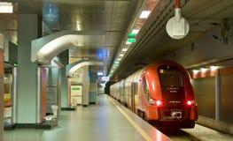 Airport Shuttles - Warsaw Royalty Free Stock Image