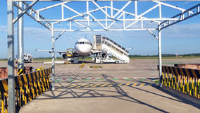 Airport in Siem Reap Cambodia Stock Photo