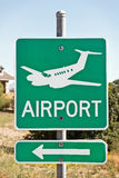 Airport Sign Royalty Free Stock Photos