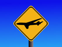 Airport sign Royalty Free Stock Photography