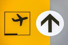 Airport Sign Royalty Free Stock Images