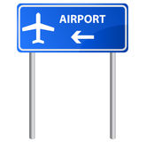 Airport sign, vector. Stock Image