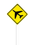 Airport sign on a white Stock Photo