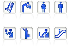 Airport signage Royalty Free Stock Image
