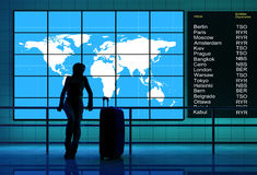 At the airport. Stock Images