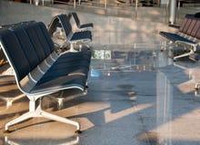Airport sits Stock Photos