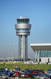 Airport in Sofia town. Bulgaria Royalty Free Stock Photography
