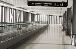 Airport in south america Royalty Free Stock Photography