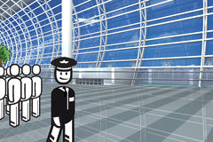 Airport stakeholder Stock Photography