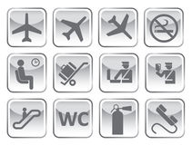 Airport symbol Stock Photo