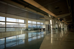 Airport Terminal. Various scenes at an terminal within an international airport royalty free stock image