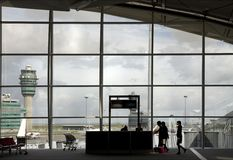 Airport terminal 7 Royalty Free Stock Images