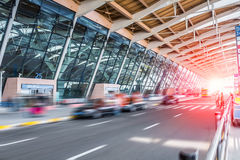 Airport terminal background Royalty Free Stock Images