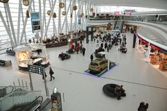 Airport terminal building Royalty Free Stock Images