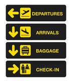 Airport terminal Royalty Free Stock Photography