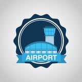 Airport terminal design Stock Photo