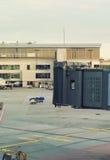 Airport terminal docks. Stock Image