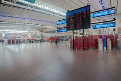 Airport Terminal Flight Info Airlines Stock Photos