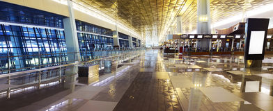 Airport Terminal. Image of airport terminal in Jakarta, Indonesia stock image